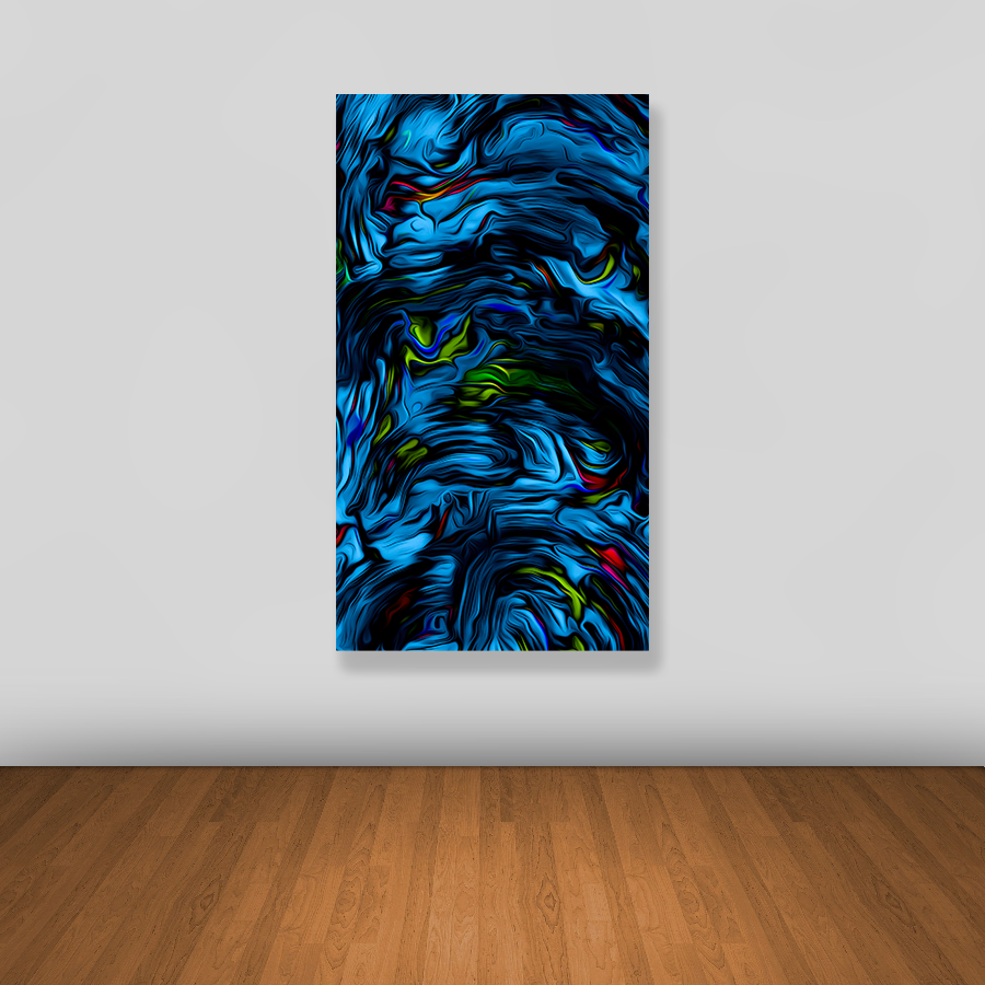 Tablou canvas abstract BLUE