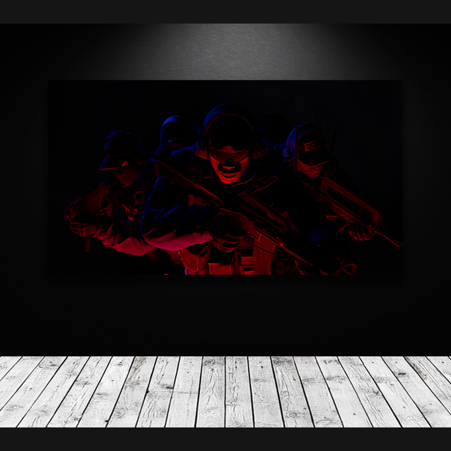 Tablou canvas gaming Counter-Strike Global Offensive CT side