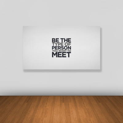 Tablou canvas motivational BE THE TYPE